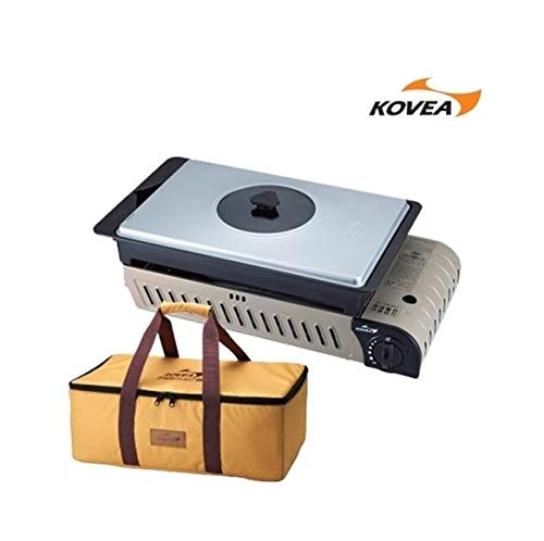 Kovea 3 Way All in One Multi Gas Stove KG-0904P with Authentic Carry Bag/Camping Gas Stove/Outdoor BBQ/Camping Tools
