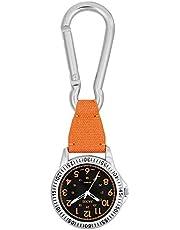 時計 カラビナ付き ポケットウォッチ 懐中時計 SCP37