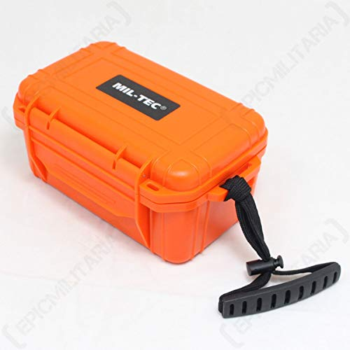 KIT DE SECOURS ETANCHE ORANGE CAMPING SURVIE RANDONNEES