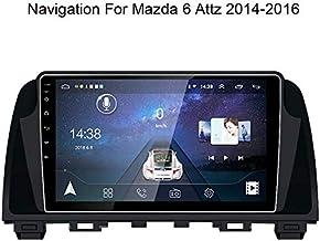 WY-CAR Android Car MP5 Player con Pantalla Táctil De 9 Pulgadas GPS Navegador para Mazda 6 Attz 2014-2016 Mirror Link Radio FM WiFi Bluetooth Multimedia Reproductor De Video Estéreo