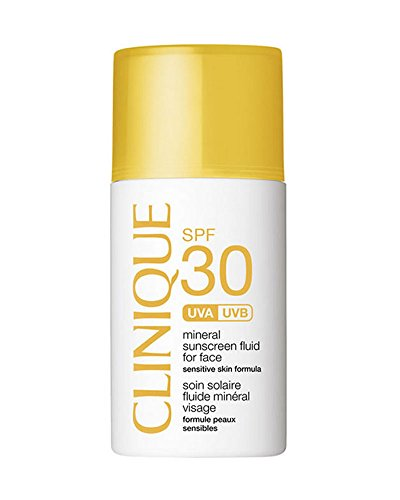 Clinique Mineral Sunscreen Fluid for Face SPF 30 Sensitive Skin, 1 Ounce