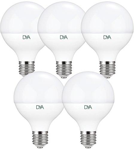 Set met 5 gloeilampen LED-lampen 20 W – E27 – 1960 lumen – koud licht 6000 K °
