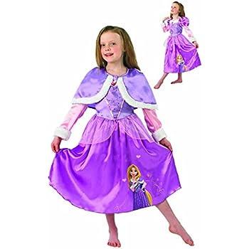 Rubies - Disfraz Rapunzel Winter Wonderland para niñas, talla S ...