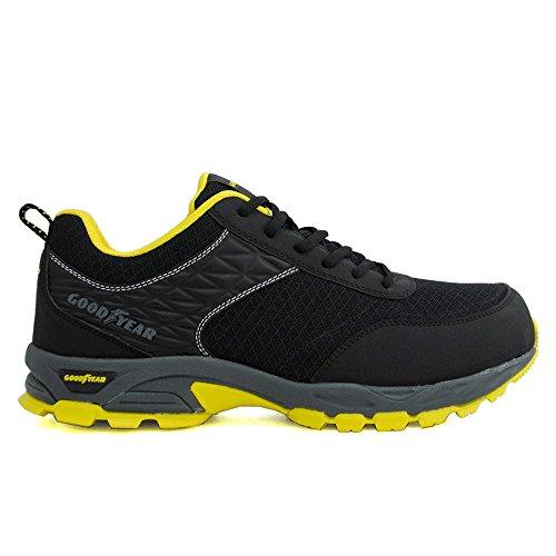 Goodyear S1P SRA HRO Sicherheitsschuhe Arbeitsschuhe Sneaker - 100% Metallfrei Gr. 43