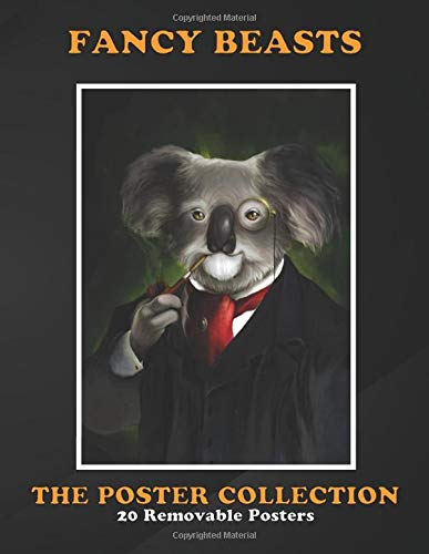 Poster Collection: Fancy Beasts Koala Gentleman Fantasy