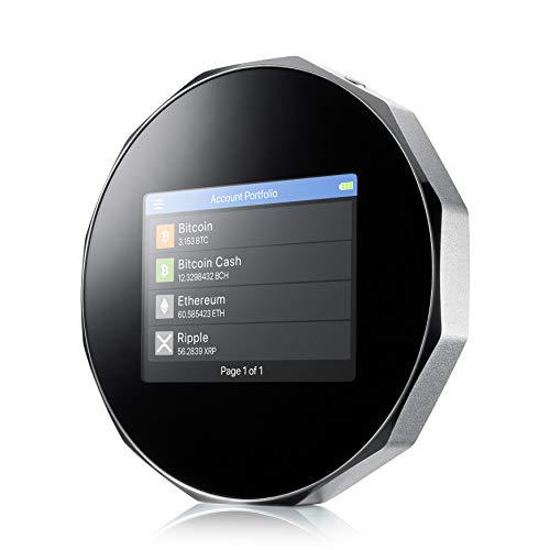 Carteira de hardware SecuX V20 Crypto-ativo - Bluetooth habilitado para celular - totalmente compatível com Bitcoin, Ethereum, Ripple, Litecoin, Bitcoin Cash, Digibyte, Dash, Binance, Dogecoin, GRS, Stellar Lumens, ERC20