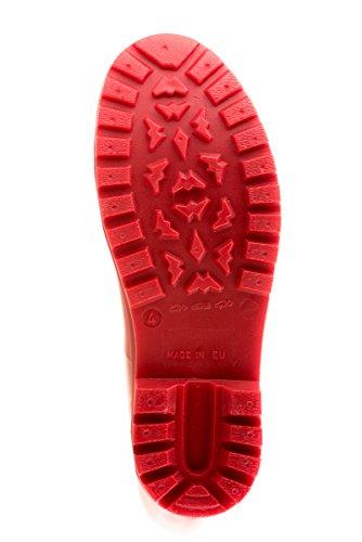 MEI Damen Gummistiefel (Rot) - 6