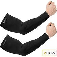 KMMIN Mangas del Brazo Mangas de la protección UV para Conducir Ciclismo Baloncesto