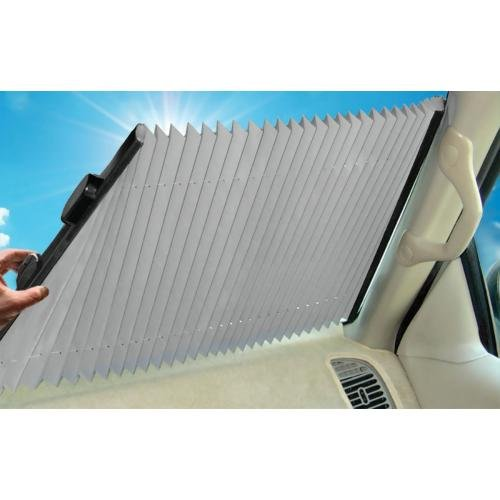 Dash Designs The Shade Retractable Windshield Sunshade, 23' (SV03)