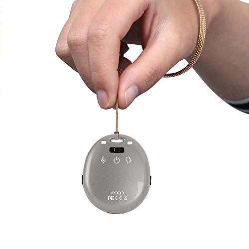 8Go Enregistreur vocal, Mini 8Go Portable Kering Enregistreur audio avec port Mini USB lecteur MP3pour Amphithéâtres Interviews Class