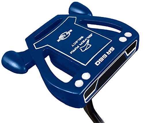 Ray Cook Golf- Silver Ray Select SR550 Putter Navy Blue 35'