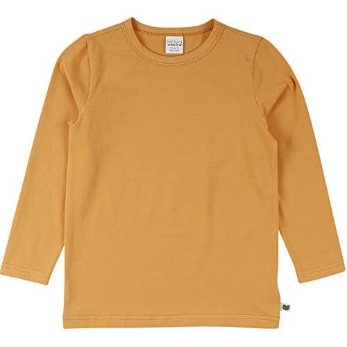 Fred's World by Green Cotton Mädchen Alfa T T-Shirt, Orange Mango, 116