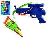 VENTURA TRADING para niños Set de Tiro con Arco Ballesta Juego de Destino Juego de Disparos Conjunto de Arco y Flecha de Tiro con Arco con 4 Flechas de Ventosa Arco y Flecha