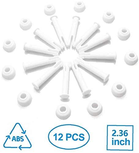 JBNS 12 Stück Gelenkbolzen Dichtungen Für Intex 13-24 Zoll Runder Metallrahmen Pools Ersatzteile Intexpool Ersatz Ersatzteil 5.5cm