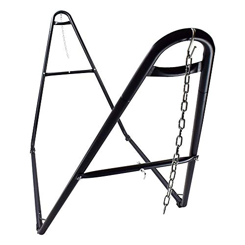 VALLEYRAY Portable Steel Hammock Stand with Carry Bag, 2 Person Heavy-Duty Universal Hammock Stand...
