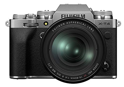 Fujifilm X-T4 Mirrorless Digital Camera XF16-80mm Lens Kit - Silver