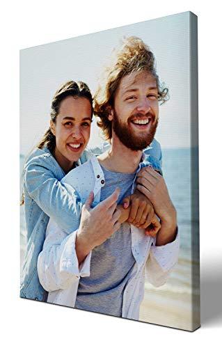 wandmotiv24 eigenes Foto Hochformat 60x80cm auf Leinwand drucken Lassen, Ihr Fotodruck selbstgestalten eigenes Motiv, Leinwandbild, Fotogeschenk individuell