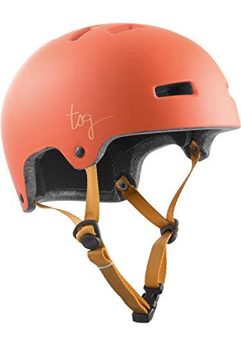 TSG Ivy Solid Color Helm Damen Satin Light Papaya 2020 Fahrradhelm