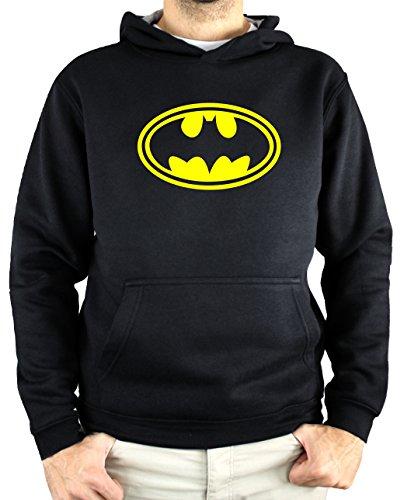 Sudadera Hombre - Unisex Batman (Negro, XS)