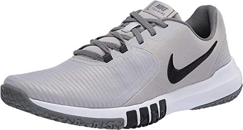 Nike Men's Flex Control TR4 Cross Trainer, Light Smoke Grey/Blacksmoke Grey-Dark Smoke Greywhite, 10 4E US