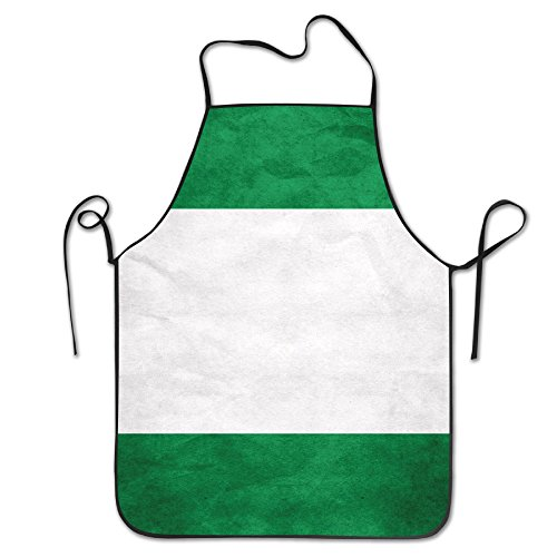 Nigerianische Flagge Küche Schürze Wasserdicht Erwachsene