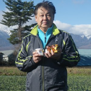 『JA全農長野 信州そらまめ農園高見澤さんちのにんにくみそ 200g×3個』の3枚目の画像