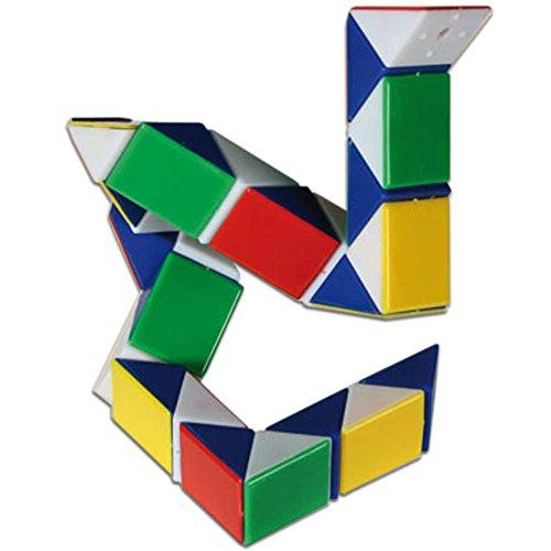 Out of the blue 61/66043D Cubo mágico Serpiente Retro Juguete Puzzle de Viaje