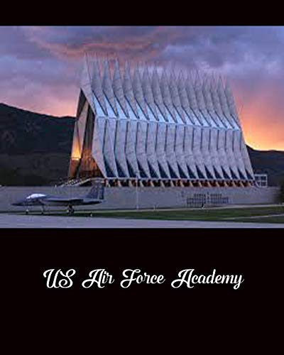 Daily Organizer and Planner: US Air Force Academy: 180 Day 8x10 inch 6 Month Undated Day Planner