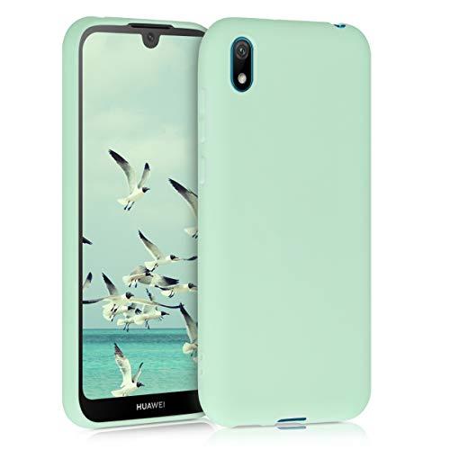 kwmobile Hülle kompatibel mit Huawei Y5 (2019) - Handyhülle - Handy Hülle in Mintgrün matt