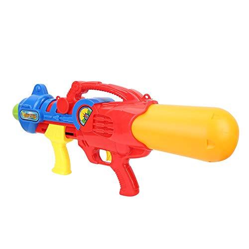 Pistola de Agua de Juguete de Material plástico, Pistola de Agua a presión, 64 * 27 * 11 CM Duradera para niños