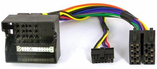 NIQ Adaptador de mando a distancia en el volante adecuado para radios de coche Kenwood compatible con Ford C-Max, Fiesta, Fusion, Focus, Galaxy, Kuga, Mondeo, S-Max, Transit y Transit Connect.