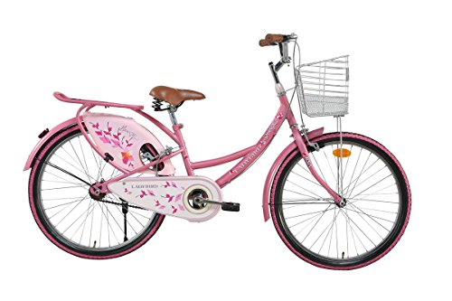 BSA Ladybird Breeze 24T Steel Pink Bike/Bicycle for Girls and Ladies
