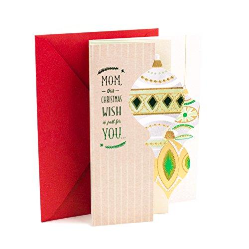Hallmark Mahogany Christmas Card for Mom (Wish for Happiness)