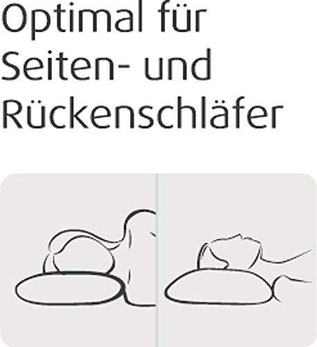 TEMPUR Schlafkissen SONATA 61 x 40 x 9,5 cm S