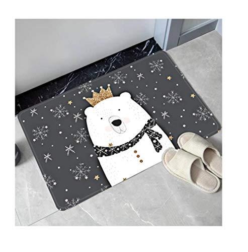 Qianqingkun Anti-slip schoonmaken deurmatten thuis tapijt deurmatten - slaapkamer keuken badkamer deurmatten