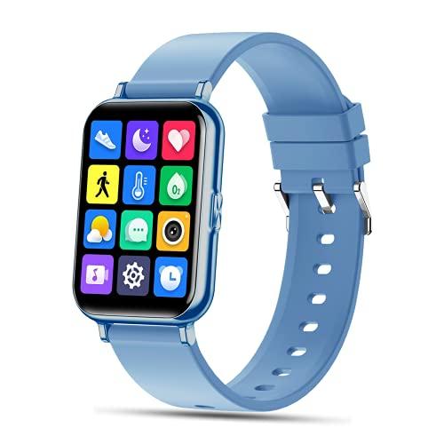 SEPVER Smartwatch, Reloj Inteligente Impermeable IP68 para Hombre Mujer, Fitness Tracker con Monitor de Blood Oxygeno de Sueño Contador de Pulsómetros, Podómetro Smart Watch para Android iOS