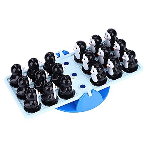 Tomanbery Juguete de balancín de Escritorio Juguete de balancín de pingüino Lindo para la interacción Entre Padres e Hijos