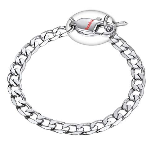 PROSTEEL Free Engrave Stainless Steel Bracelet Men Chain & Link Bracelets Fashion Stainless Steel Jewelry ID Bracelets & Bangles