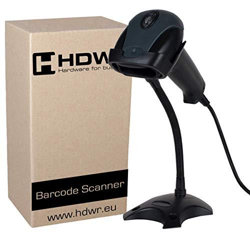 USB Professional automatische barcode-scanner barcodelezer met standaard, zwart, zeer snel, geavanceerd, HDWR HD29A