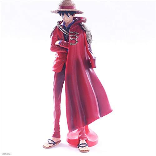 Byrhgood One Piece Cape Wind Road 25cm Modelo Rey náutico Estatua Noche en Movimiento Adorno difuso