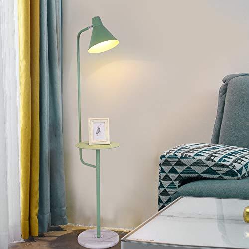 DSM Net Rot Stehleuchte Schlafzimmer Wohnzimmer Nachttisch Couchtisch Kreative Makaron Aufbewahrung Vertikale Tischlampe 150 cm (Color : Green, Size : White Light)