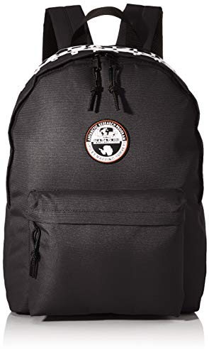 Napapijri Happy Daypack RE Rucksack, 42 cm, 20 Liter, Black