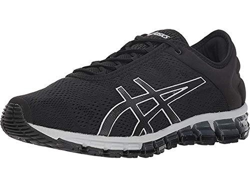 ASICS Men's Gel-Quantum 180 3 Running Shoes, 8.5M, Black/Black