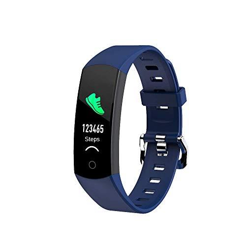LC.IMEEKE Fitness Tracker mit Pulsmesser, 0,96 Zoll Farbbildschirm Pulsuhren Fitness Armband Aktivitätstracker Schrittzähler Schlafmonitor Smart Watch Fitness Uhr Armbanduhr Sportuhr für Damen Herren