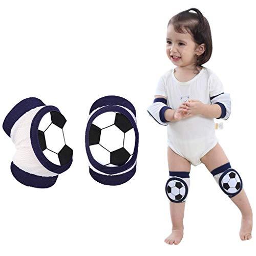 Baby Knieschoner Baumwolle Netz Krabbelknieschoner Kinder Knieschützer Knie Ellenbogen Pads kriechen Sicherheit Schutz Kleinkinder Mädchen und Jungen für 2-5 Jahre