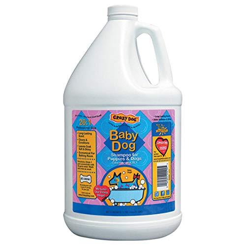 Concentrated Scented Pet Shampoo for Dog Grooming One Gallon - Choose Scent (Baby Dog)
