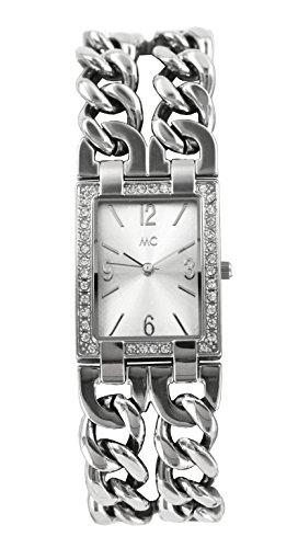 MC Timetrend Damen Analog Quarz Uhr mit Messing Armband 51552