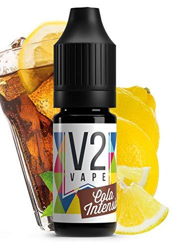 V2 Vape Cola Intensiv AROMA / KONZENTRAT hochdosiertes Premium Lebensmittel-Aroma zum selber mischen von E-Liquid / Liquid-Base für E-Zigarette und E-Shisha 30ml 0mg nikotinfrei
