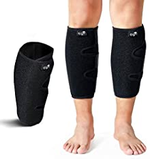 Calf Support Brace 2 Pack, Adjustable Shin Splint Compression Calf Wrap
