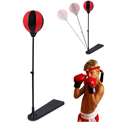 HHY Boxsack Speed Ball Boxball Standboxsack Einstellbare Fitness Boxing Relaxed Bag Für Kinder Jugendliche